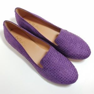 Mia Purple Flats